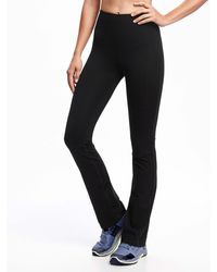 Old Navy High-waisted Elevate Straight Compression Pants - Black