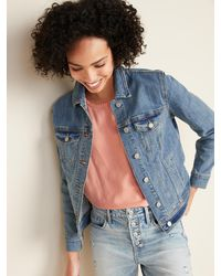 Old Navy Jean Jacket For Women - Blue