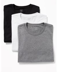 Old Navy Moisture-wicking Crew-neck Tees 3-pack - Multicolor