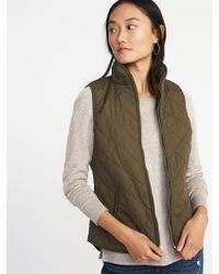 Old Navy - Lightweight Quilted Vest - Lyst