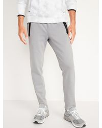 Old Navy Dynamic Fleece Tapered-fit Sweatpants - Gray