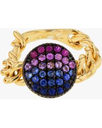 Phillips House Chain Link Ring - Multicolor