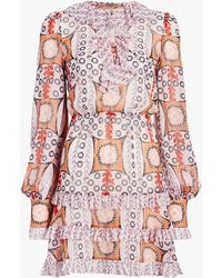 Temperley London Women's Etoile Mini Dress - Red