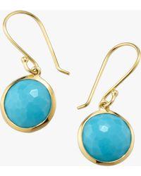 Ippolita Lollipop Turquoise Drop Earrings - Multicolor