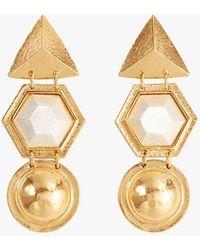 Stephanie Kantis - Angularity Geometric Earrings - Lyst