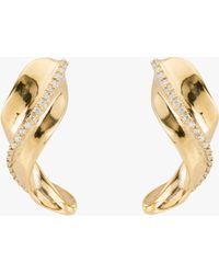 Uno De 50 Tide Stud Earrings - Metallic