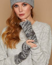 Eugenia Kim Frida Fingerless Gloves - Gray