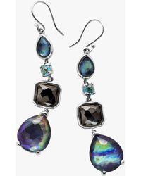 Ippolita - Rock Candy 4-stone Eclipse Drop Earrings - Lyst