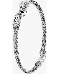 John Hardy Legends Naga Double Dragon Head Bracelet - Metallic