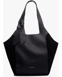 Rag & Bone Grand Shopper - Leather And Suede Large Tote Bag - Multicolor
