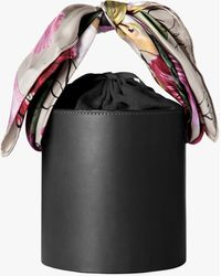 Montunas Isla Leather Bucket Bag - Black
