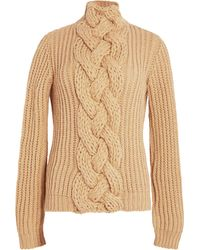Hensely - Front Cable Pullover Sweater - Lyst