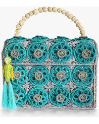 3b25b6a74fb Mercedes Salazar - Amanecer Woven Parrot Handbag - Lyst