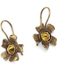 Tomas Maier - Aster Flower Earrings - Lyst