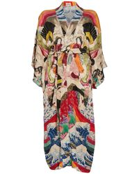 Chufy Trippin Long Kimono - Multicolor