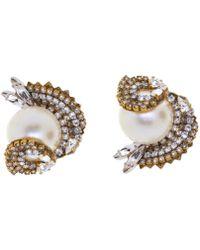 Erickson Beamon - Delicate Balance Earrings - Lyst