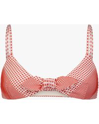 lemlem Women's Semira Tie-front Bikini Top - Pink