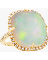 Nina Runsdorf - Opal Cushion Ring - Lyst