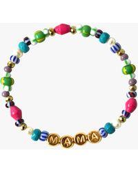 Akola Gemstone Rainbow Mama Bracelet - Green