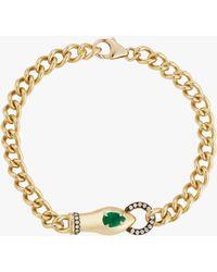 Jemma Wynne Toujours Snake Bracelet - Metallic