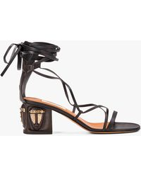 Valentino Tribe Gladiator Heeled Sandal - Multicolor