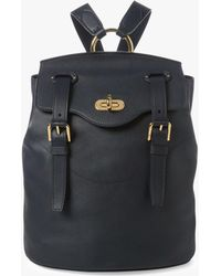 1cbc0766f32f Ralph Lauren Collection - Turn Lock Backpack - Lyst