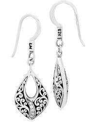 Lois Hill - Classic Swish Teardrop Earrings - Lyst