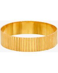 Pippa Small Wajiha Cuff Bracelet - Metallic