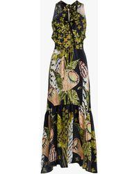Temperley London Women's Harmony Tie-waist Dress - Black