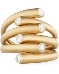 Carelle - Whirl Diamond Ring - Lyst