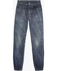 Rag & Bone Women's Miramar Relaxed Denim Sweatpant Sweatpants - Blue