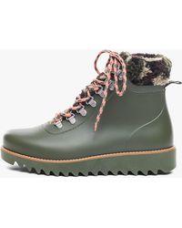 Bernardo Wiley Camo Print Rain Boot - Green