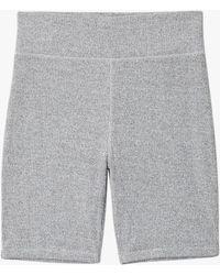 Rag & Bone - The Knit Rib Bike Short Slim Fit Short - Lyst