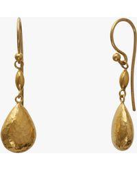 Gurhan - Short Delicate Drop Earrings - Lyst