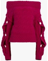 Hellessy - Dorian Off-the-shoulder Sweater - Lyst