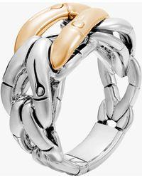 John Hardy - Bamboo Woven Ring - Lyst