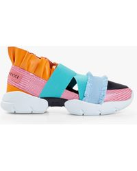 Emilio Pucci - Frayed Slip On Sneaker - Lyst