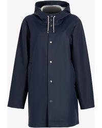 Stutterheim Women's Stockholm Raincoat - Blue