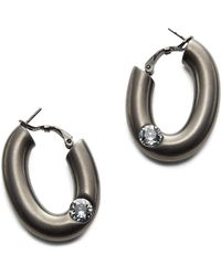 Tomas Maier - Spark Brass Earrings - Lyst