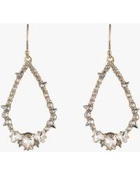 Alexis Bittar - Crystal Spiked Teardrop Earrings - Lyst