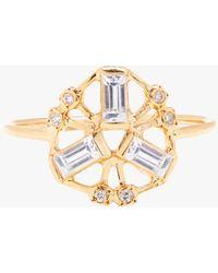 Scosha Kaleidoscope Ring - Metallic