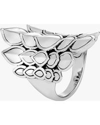 John Hardy - Naga Saddle Ring - Lyst
