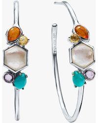 Ippolita - Rock Candy Stone Cluster Hoop Earrings - Lyst