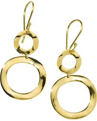 Ippolita - Classico Mini Snowman Earrings - Lyst