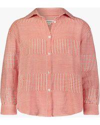 lemlem Semira Men's Shirt - Pink