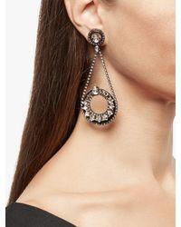 Erickson Beamon China Club Earrings - Metallic
