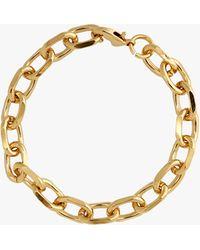 Joolz by Martha Calvo Celine Chain-link Bracelet - Metallic