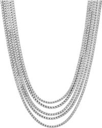 John Hardy - Classic Chain Five Row Necklace - Lyst