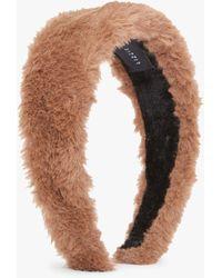Lizzie Fortunato Faux Fur Headband - Multicolor