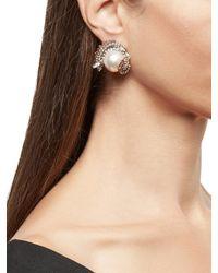 Erickson Beamon Delicate Balance Earrings - Metallic